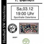 Vorlage 1 Handball Damen Friedrichsfehn