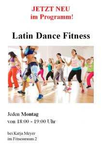 Werbung Latin Dance Fitness